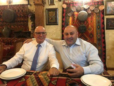 business consultation, Yerevan Armenia. (Razmik Blikyan Investor and Morris HTS)