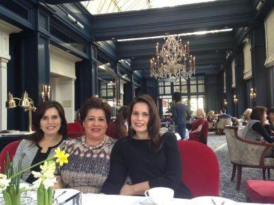 Family Kerens, Amstel Hotel, Amsterdam 2017