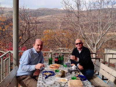 rest in our dacha after work in Yerevan.   Rest in our dacha in the mountains 20 km from Yerevan